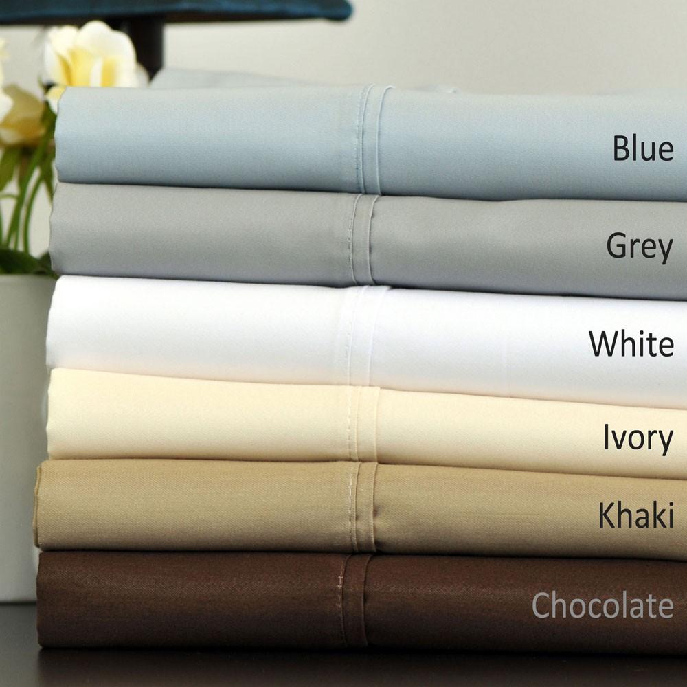700 thread count egyptian cotton blend sheet set